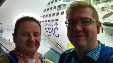 Roguetrippers took a cruise to Italy in December 2017, on board the Norwegian Epic cruise ship