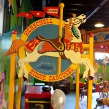 Vintage Carrousels at the Allan Herschell Co Museum