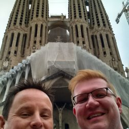 Roguetrippers visited the Sagrada Familia on both visits to Barcelona
