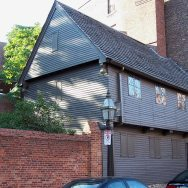 Paul Revere's house is one the Freedom Trail in Boston
