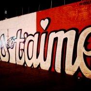 Je T'aime Paris mural