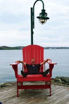 Giant Muskoka Chair in Halifax