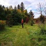 Roguetrippers hiked the Organic oasis Pollinator path Perth County