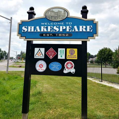 Roguetrippers visited the village of Shakespeare in Perth Count Ontario
