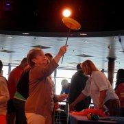 Circus-performer-class-aboard-Cruiseship