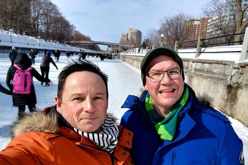 RogueTrippers visit Ottawa during Winterlude