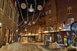During Carnaval in Quebec City Rogue_trippers visited Vieux Quebec