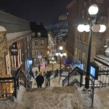Vieux Quebec Rogue Trippers visited during Carnaval