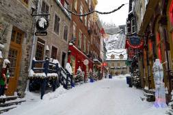 Rogue Trippers visit Vieux Quebec City World Heritage Site.