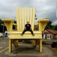Big-Yellow-Muskoka-Chair-Gravenhurst-Sawdust-City