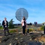 Sudbury Big Nickel was first stop on our way to Sault Ste Marie