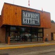 Sawdust City Brewing Company in Gravenhurst