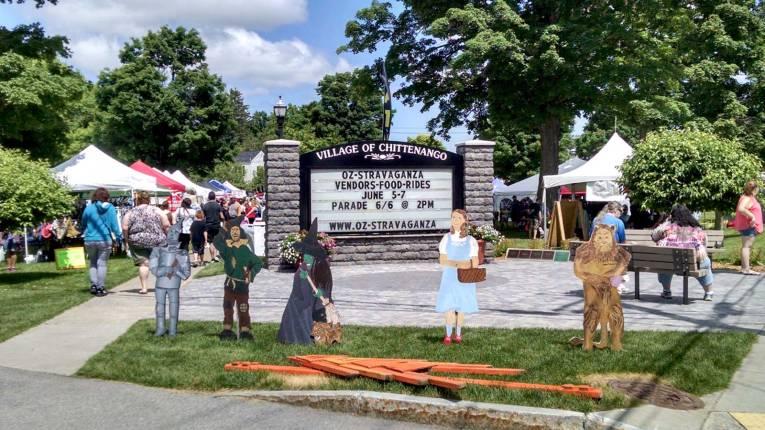 OZ-Stravaganza is a giant Wizard of Oz festival in Chittenango, New York