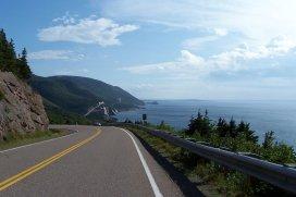 Travellers take a tour of Canada's most scenic drive in Cape Breton Nova Scotia
