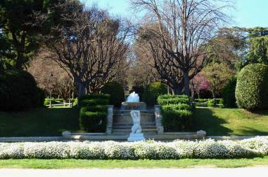 The gardens of Palau Reial in Barcelona are gorgeous