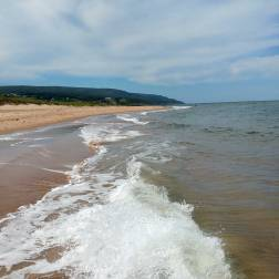 travel to Inverness Beach, on Cape Breton Island Nova Scotia Tourism