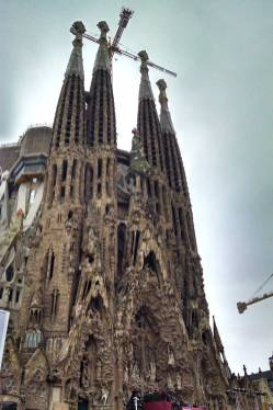 Roguetrippers visit Barcelona z sagrasda