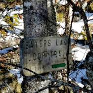 Sign for Bayers Lake Loop Trail musquodoboit Roguetrippers
