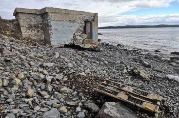 historic ruins Halifax Area Hiking Trails Roguetrippers Point Pleasant Park Nova Scotia.