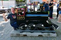 the 1095 train at Downtown Kingston Ontario