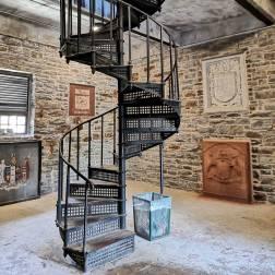 Spiral-Staircase-Sanford-Fleming-Park-Tower-Halifax