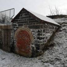 architectural ruins can be seen on a Halifax Hiking trail to Point Pleasant Park