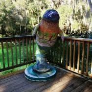 Manatees are everywhere at Blue Springs State Park near Orlando