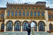 Nick Kulnies & Tanya Kulnies visit the Ringling Museum and Ca'dzan in Sarasota