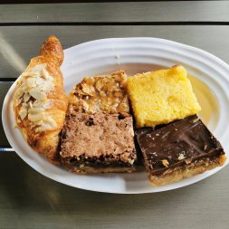Delicious sweet treats and desserts from With The Grain bakery and Cafe in Guelph Ontario