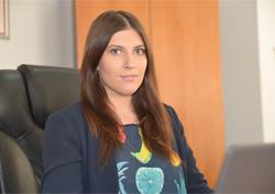 Reporter Ana-Maria Maxim