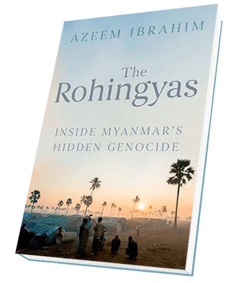 Image result for The Rohingyas: Inside Myanmar's Hidden Genocide Azeem Ibrahim