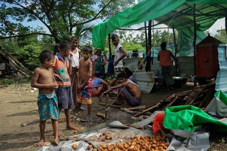 Kyauktaw IDP camp relocated