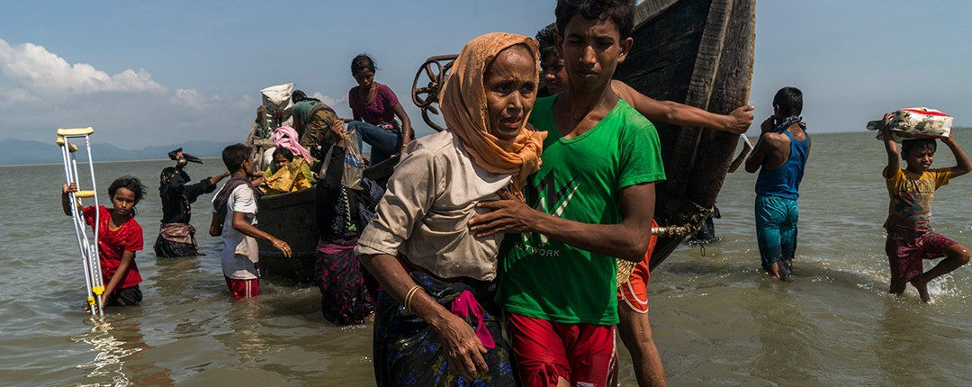 Desperate Rohingyas are pleading for unity