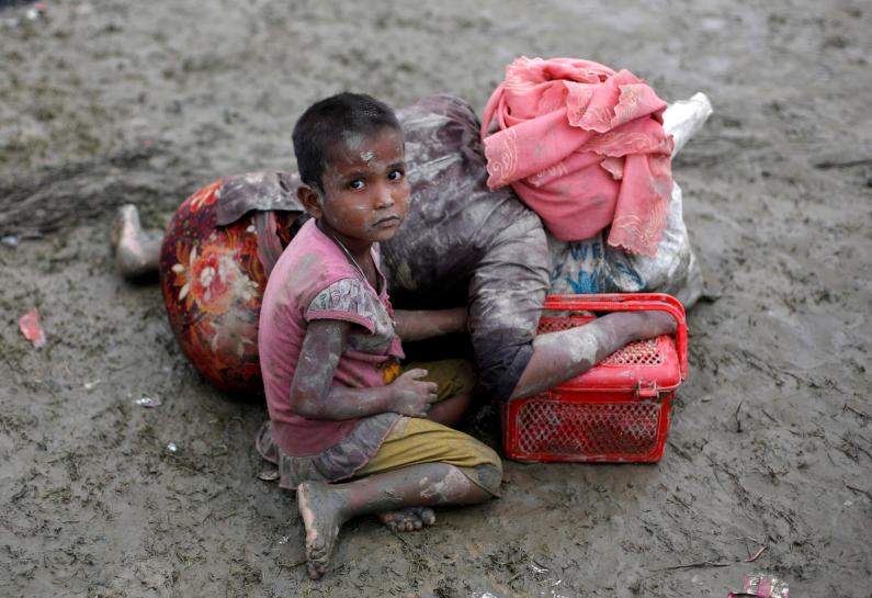 The end of the Rohingya village