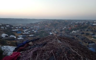 Rohingyas are at risk of landslides and floods