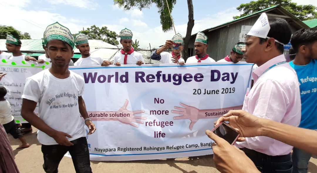 "Photo News: ""World Refugee Day"" celebrated by #Rohingya #Reguees"