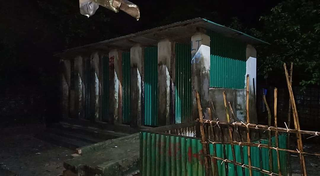 Innovative latrines for expecting Rohingya mothers
