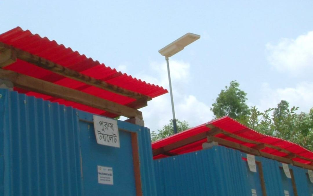 Sunna design helping Rohingyas to be employed and lighting their streets