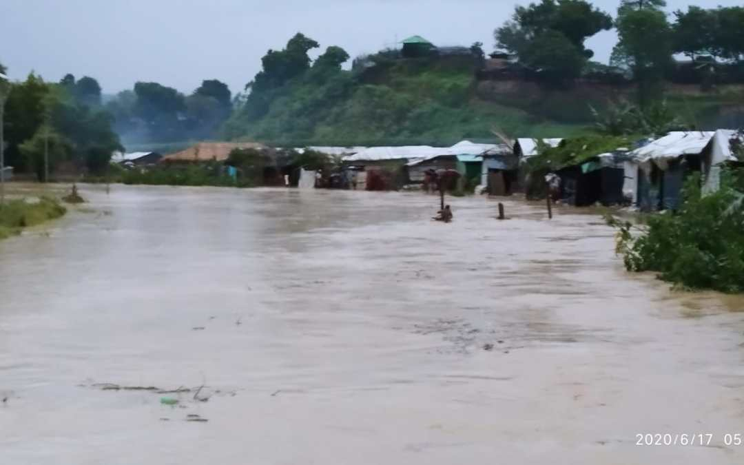 Photo News: Rohingya Refugee Camps are flooded