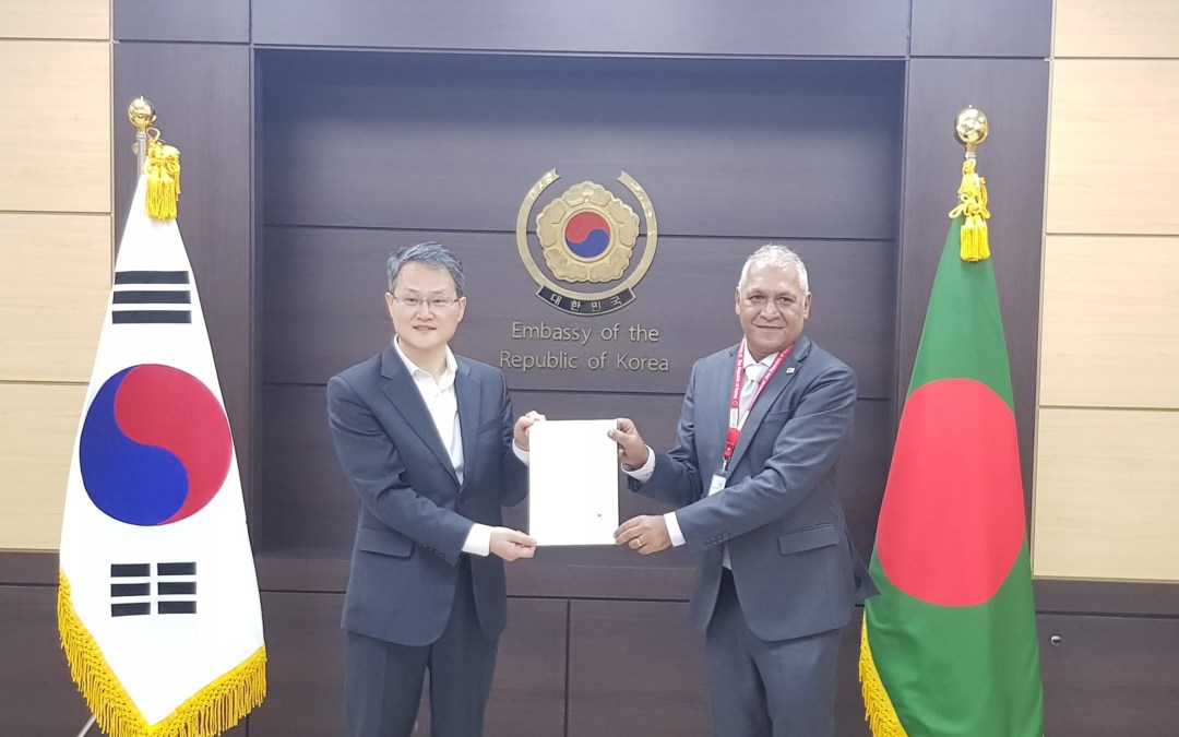 The Embassy of the Republic of Korea announces 700,000 US dollar for the Rohingya refugees and the host community
