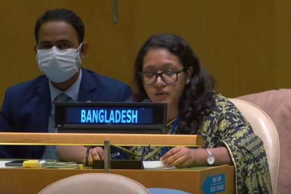 Bangladesh vehemently rejects Myanmar allegation in the 75th UN General Assembly