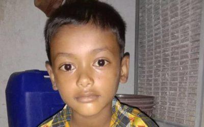 A child was found in Balukhali camp 1