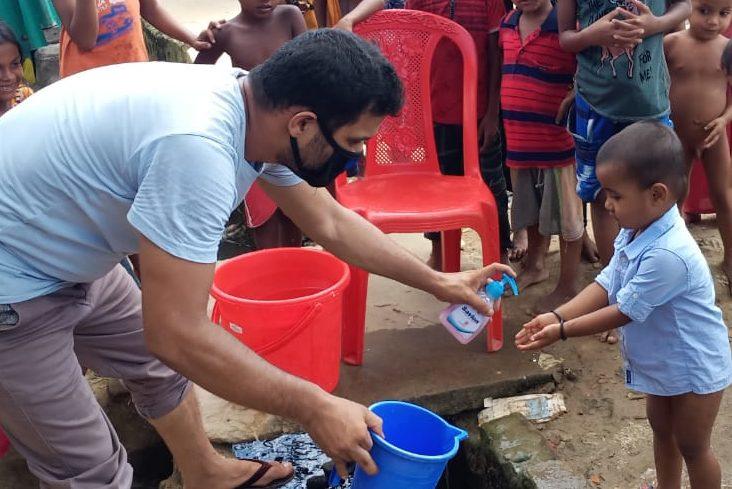 Rohingya refugees observe world handwashing day
