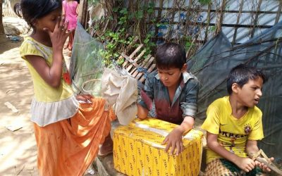 The struggle of an 11 year Rohingya refugee