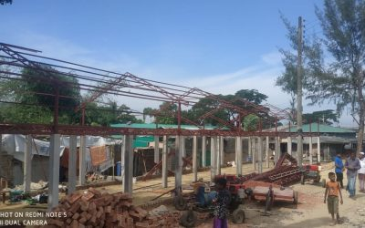 UNHCR started to build new shelters in the old registered Rohingya refugee camp