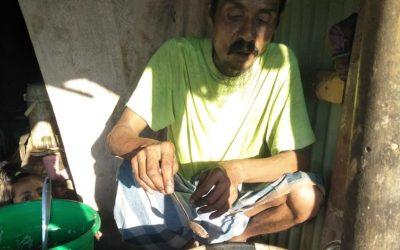 The desire of a Rohingya street food seller