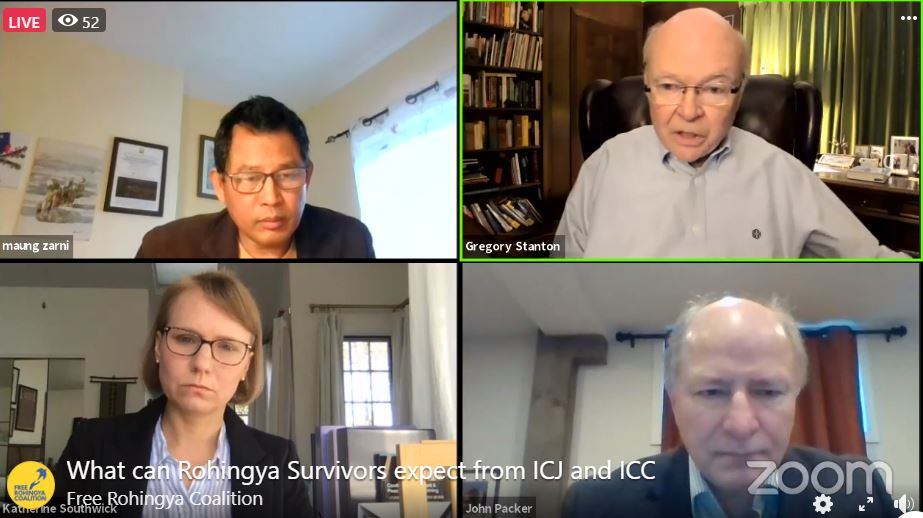 Live Now: What can Rohingya Survivors expect from ICJ and ICC