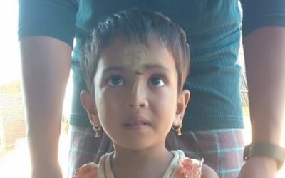 A child was found in Kutupalong camp 3