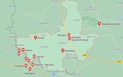 BGB detains Rohingya at Birampur of Bangladesh
