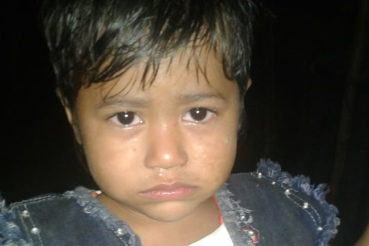 A child was found in Kutupalong camp, block F12.
